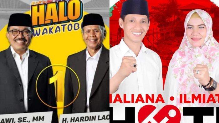 Pilkada Wakatobi 2020, Bandingkan Visi Misi Arhawi dan Hardin Laomo vs Haliana dan Ilmiati Daud
