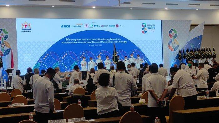 Arsjad Rasjid Ketua Umum Kadin Indonesia, Terpilih Aklamasi pada Munas Kadin 2021 di Kendari
