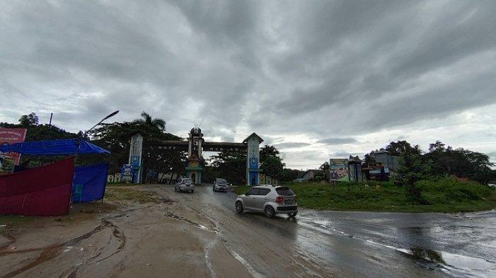 Tak Ada Penjagaan di Perbatasan Puuwatu Kendari - Konawe, Arus Balik Mudik Lebaran 2021 Ramai Lancar