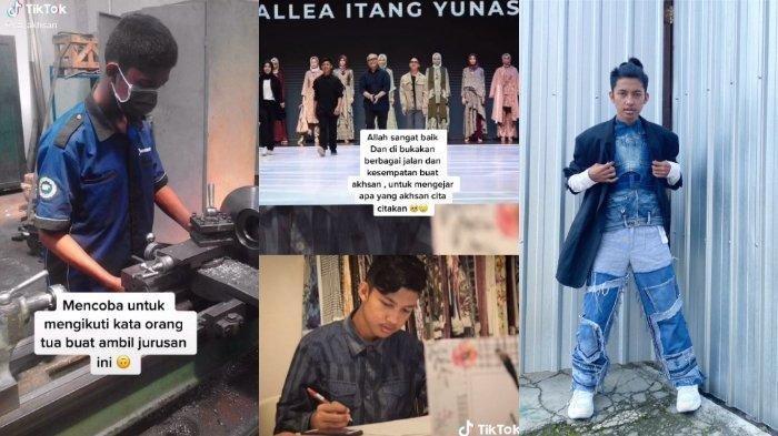 Kisah Aulya Akhsan, Lulusan SMK Jurusan Otomotif yang Sukses Jadi Perancang Busana