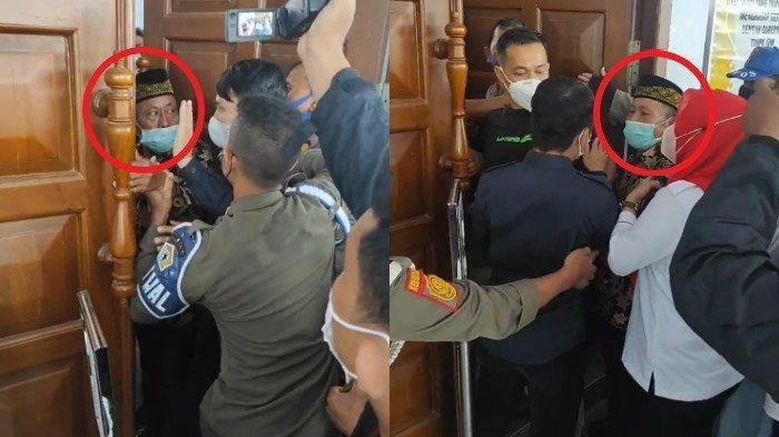 Ayah Apriyani Rahayu Nyaris Tergencet Pintu Saat Temani Putrinya Bertemu Gubernur Sulawesi Tenggara