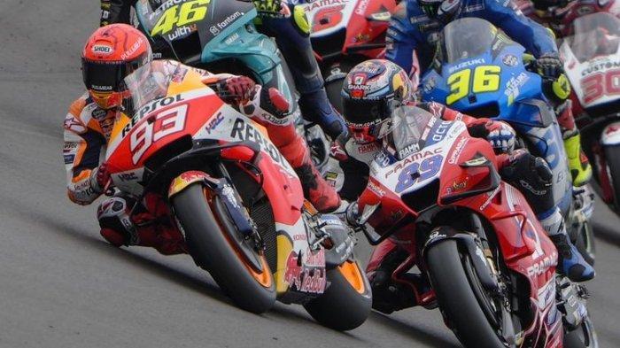 Daftar 10 Besar FP3 MotoGP San Marino 2021 Hari Ini: Bagnaia Tercepat, Rossi & Marquez Melempem