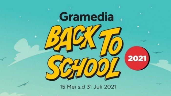 Gramedia Kendari Tawarkan Promo Back To School 2021, Nikmati Beragam Potongan Harga untuk Buku Tulis
