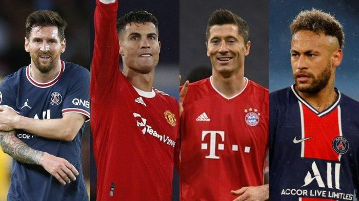 Dari 30 Nominasi Ballon dOr 2021, Lionel Messi Pilih Neymar, Mbappe, Lewandowski, Benzema, Bukan CR7