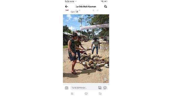 Kadis SDA dan Bina Marga Sultra Janji Jalan Rusak di Desa Wakumoro Muna Bakal Segera Diaspal