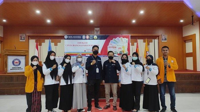 BI Sultra Galakan Edukasi: Tingkatkan kembali Rasa Cinta, Bangga dan Paham Rupiah Pada Mahasiswa