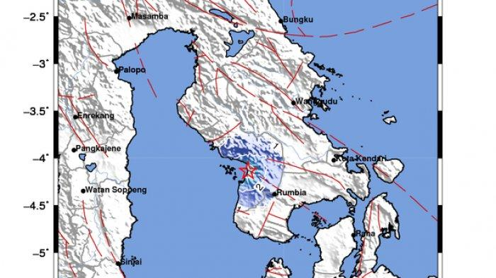 BMKG Gempa Terkini Kolaka di Sulawesi Tenggara, Tidak Berpotensi Tsunami, Warga Diimbau Tak Panik