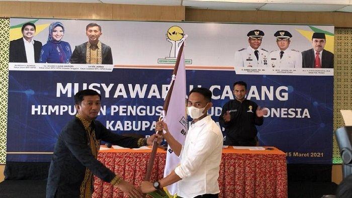 Terpilih Jadi Ketua HIPMI Kolaka, Suharto Janji Latih Pengusaha Muda hingga Ciptakan Lapangan Kerja