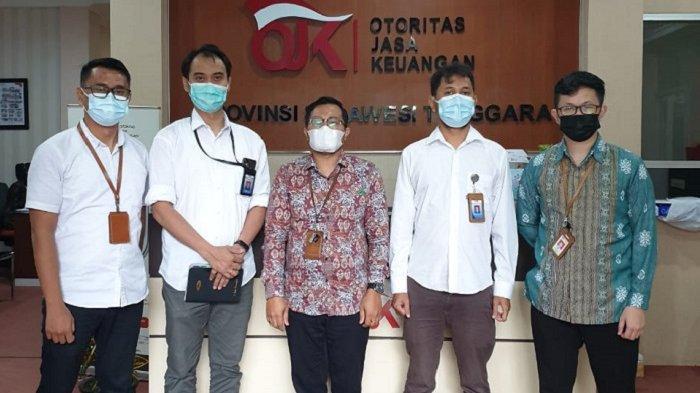 BPKP Sultra Pelajari Mekanisme dan Inovasi Kehumasan di OJK Sulawesi Tenggara