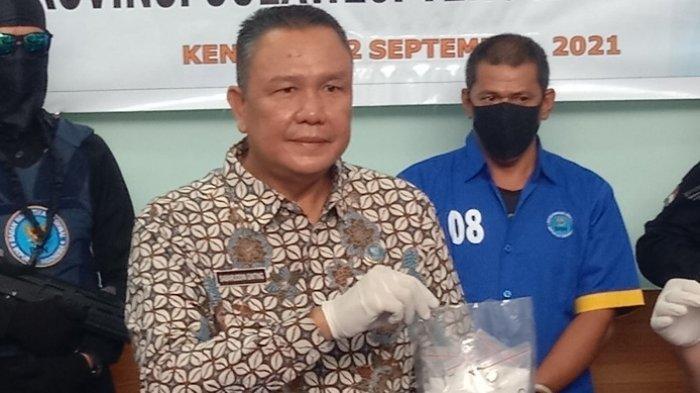 Nelayan Kolaka Ditangkap Jadi Pengedar Sabu,1 kg Barang Bukti Diamankan BNNP Sulawesi Tenggara
