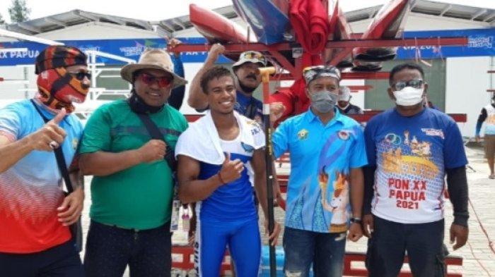 Muhammad Burhan, Atlet Cabang Olahraga (cabor) Dayung sumbangkan medali emas pertama bagi Sulawesi Tenggara pada PON XX Papua.