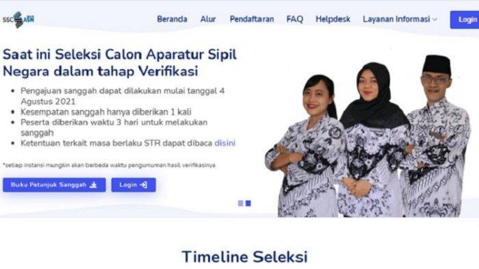 Sanggahan 2 Peserta Seleksi CPNS Butur 2021 Diterima, BKPSDM Tunggu Jadwal SKD
