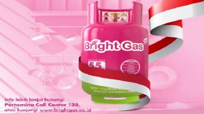 Cara Tukar Tabung Gas LPG 3 Kg ke Bright Gas, Dapatkan Gratis Ongkir, Berlaku hingga Akhir Agustus
