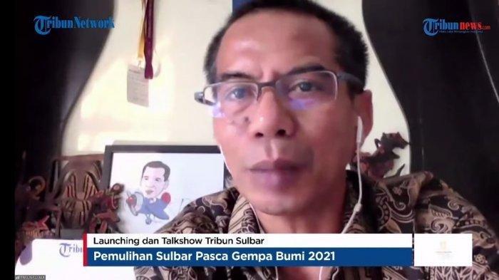 CEO Tribun Network Terharu Lihat Kondisi Sulawesi Barat Pascagempa Saat Launching Tribun-Sulbar.com