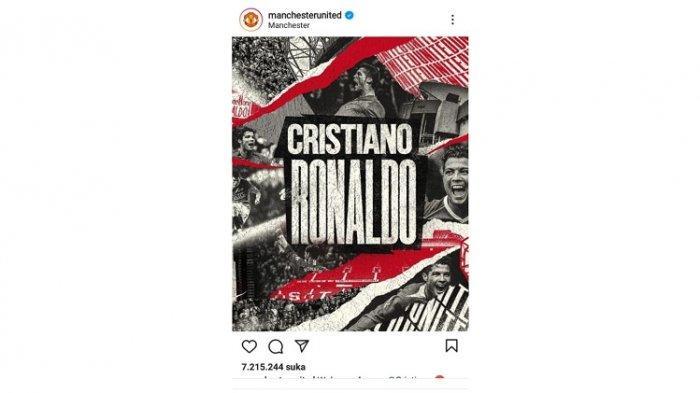 Manchester United Datangkan Cristiano Ronaldo dari Juventus, Batal Kontrak dengan Manchester City
