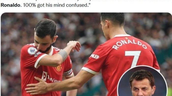 Reaksi Ronaldo Usai Bruno Fernandes Gagal Penalti, Man United Harus Bangkit Dikalahkan Aston Villa