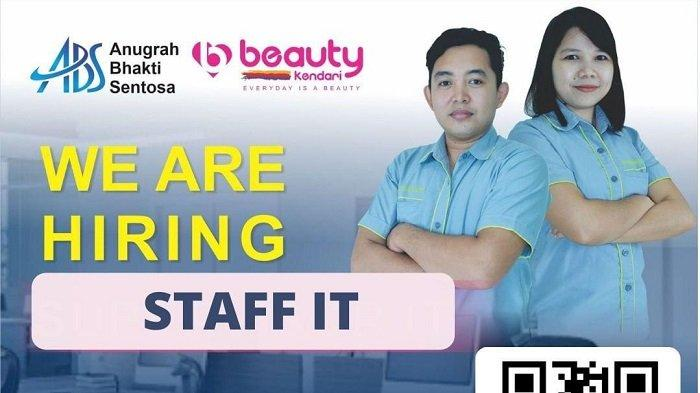 Lowongan Kerja Kendari, CV Anugrah Bhakti Sentosa Membuka Rekrutmen Staf IT, Berikut Syaratanya