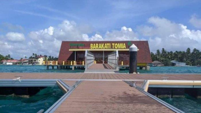 Kunjungi Dermaga Wakatobi Barakati Tomia, Pilihan Ngabuburit Favorit dengan Suguhan Keindahan Laut