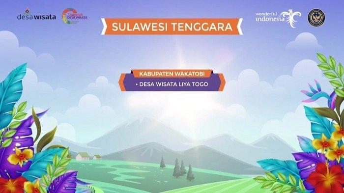 Desa Liya Togo Kabupaten Wakatobi Lolos ke 100 Besar Anugerah Desa Wisata Indonesia 2021