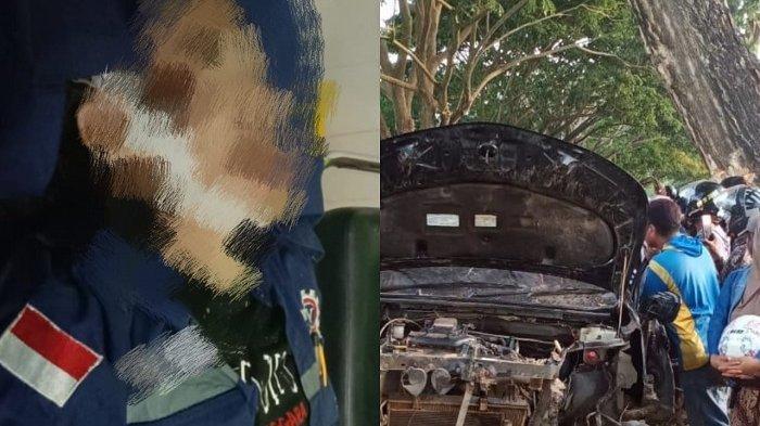 Detik-detik kecelakaan maut 9 mahasiswa Program Pendidikan Vokasi, Jurusan D3 Teknik Mesin Universitas Halu Oleo (UHO), Kendari, Sulawesi Tenggara (Sultra). Dalam kecelakaan ini, 5 dari 9 penumpang mobil tewas di tempat, akibat hantaman keras mobil yang dikendarai usai menabrak pohon di pinggir jalan.