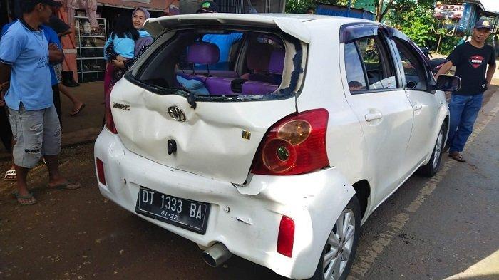 Detik-detik Tabrakan Beruntun di Konawe, Libatkan Empat Mobil dan Satu Motor, Korban Luka