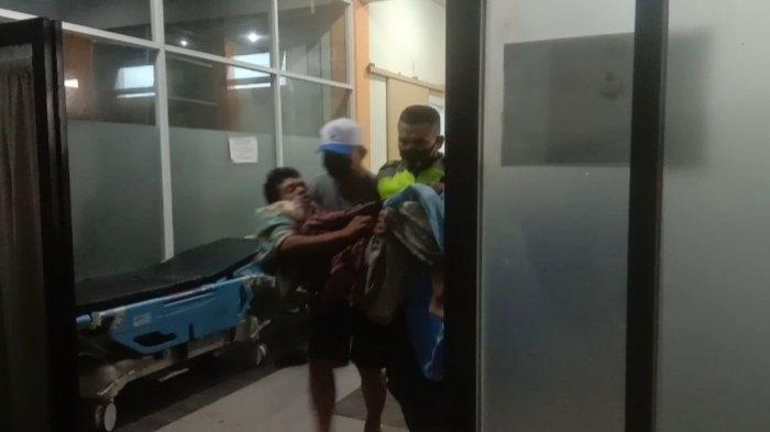 Detik-detik Warga di Kendari Tenggelam Akibat Banjir, Diselamatkan Babinsa, Dirawat di Rumah Sakit