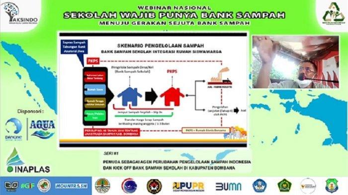 Indonesia Bebas Sampah Dimulai dari Bombana, Ciptakan Bank Sampah di Sekolah hingga Koperasi