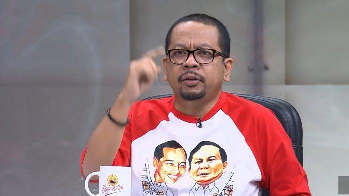 Makna Kaus Jokowi Prabowo 2024 Dikenakan M Qodari di Mata Najwa, Politisi Gerindra Setuju 3 Periode