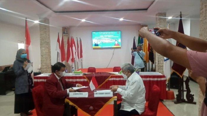 PT Tiran Group Kerja Sama UHO Kendari, Unsultra, dan Universitas Mandala Waluya