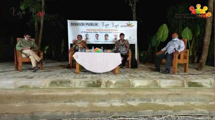 Tokoh Buton Kumpul Bahas Pemekaran Provinsi Kepulauan Buton, Anggota DPR dan DPD RI Jadi Pembicara