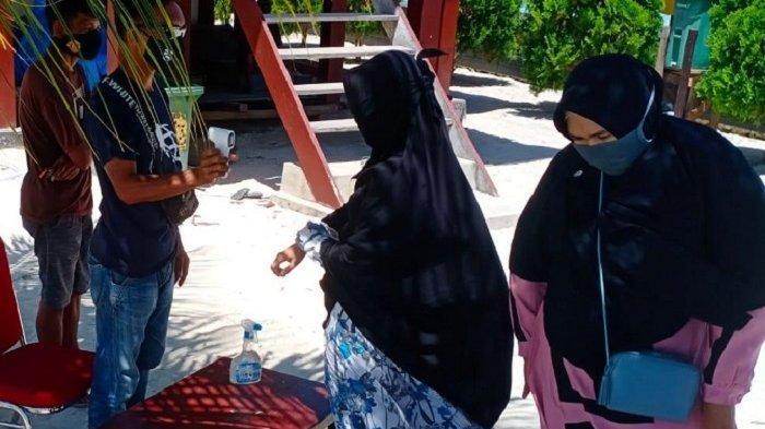 Dispar Provinsi Sulawesi Tenggara, Buat Inovasi Penerapan 3 M di Lokasi Wisata Pulau Bokori
