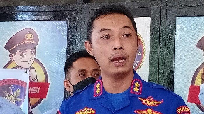 Kepala Sub Direktorat Penegakan Hukum (Gakkum) Ditpolairud Polda Sultra AKBP Ruly Indra Wijayanto.(Foto: Fadli Aksar)