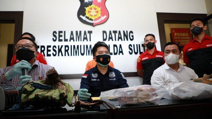 Direktorat Reserse dan Kriminal Umum Kepolisian Daerah Sulawesi Tenggara ( Ditreskrimum Polda Sultra) meringkus S gegara praktek penggandaan uang