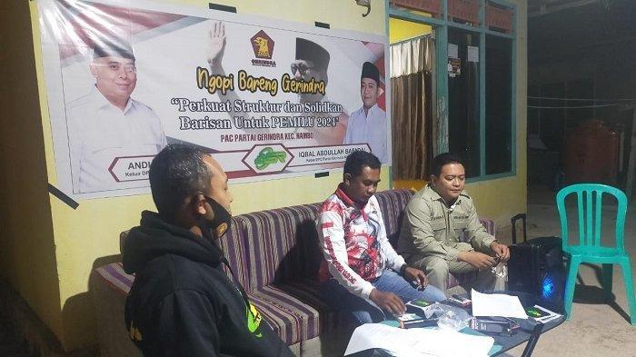 DPC Gerindra Kota Kendari Kunjungan ke Kecamatan Nambo, Kader Minta Perbaikan Jalan dan Modal Usaha