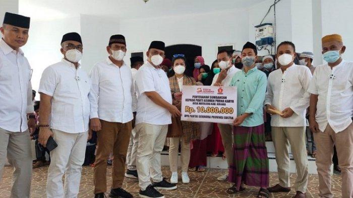 Safari Ramadan, DPD Gerindra Sultra Santuni Para Hafids Quran dan Yatim Piatu di Kolaka dan Kolut