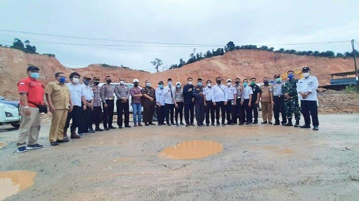 DPRD Sultra dan Tim Terpadu Tinjau Ruas Jalan Morosi Konawe, Sepakati 4 Poin, Nomor 1 Soal PT VDNI