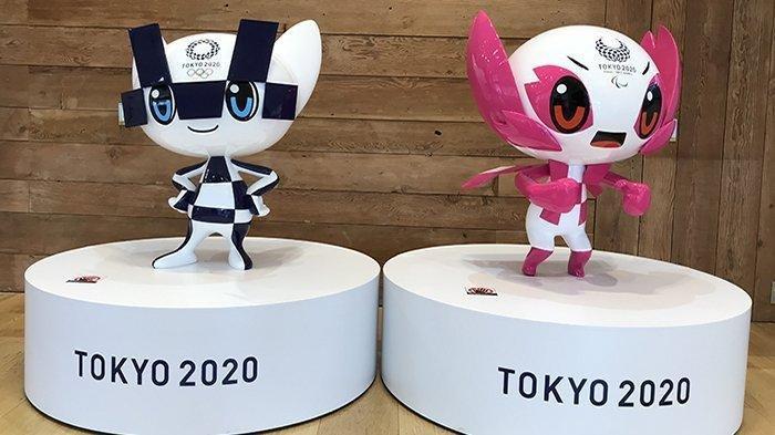 Dua karakter Olimpiade Tokyo 2020