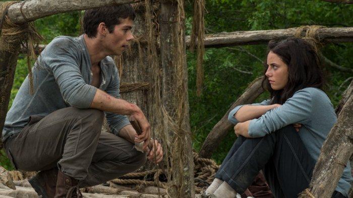 Sinopsis Film The Maze Runner, Aksi Dylan O'Brien Ajak Thomas dan Kaya Scodelario Kabur dari Glade