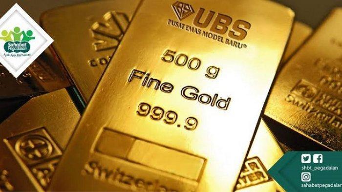 Update Harga Tunai dan Simulasi Pembiayaan Emas Batangan UBS di Pegadaian Kendari