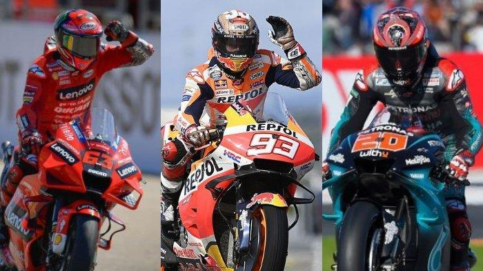 Jadwal MotoGP Emilia Romagna 2021, Nonton Aksi Marquez & Perebutan Juara Quartararo-Bagnaia