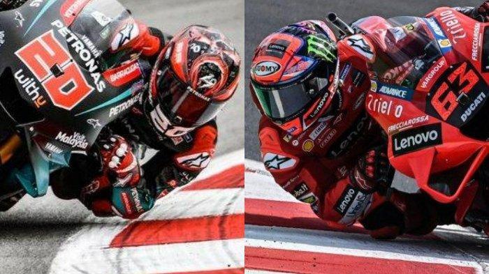 Berikut jadwal MotoGP 2021 hari ini live, ambisi Marc Marquez sulitkan skenario Fabio Quartararo dan Francesco Bagnaia segel gelar juara.