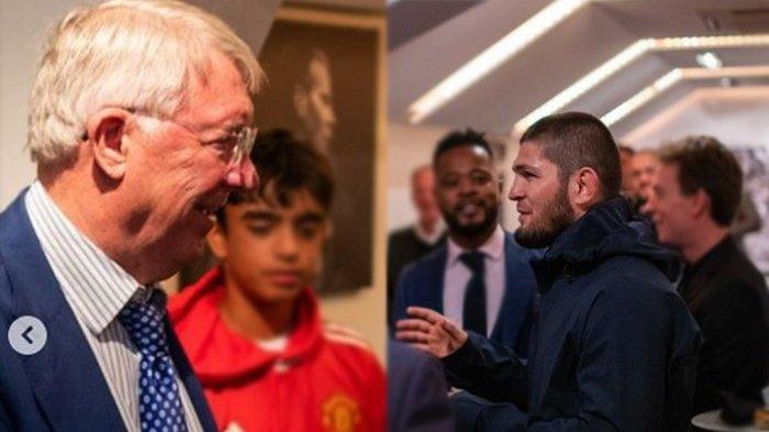Kelakar Khabib Nurmagomedov Tolak Anggur Sir Alex Ferguson: Saya Minum, Kalian Semua Hancur