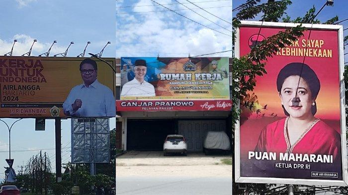 Ganjar Pranowo, Puan Maharani, Airlangga Hartarto, Cak Imin Pasang Muka di Kendari Sulawesi Tenggara