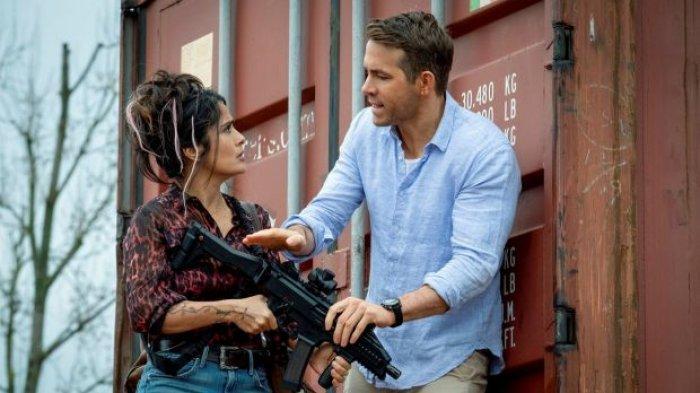 Sinopsis Film Hitman's Wife's Bodyguard, Aksi Ryan Reynolds, Salma Hayek, dan Samuel L. Jackson
