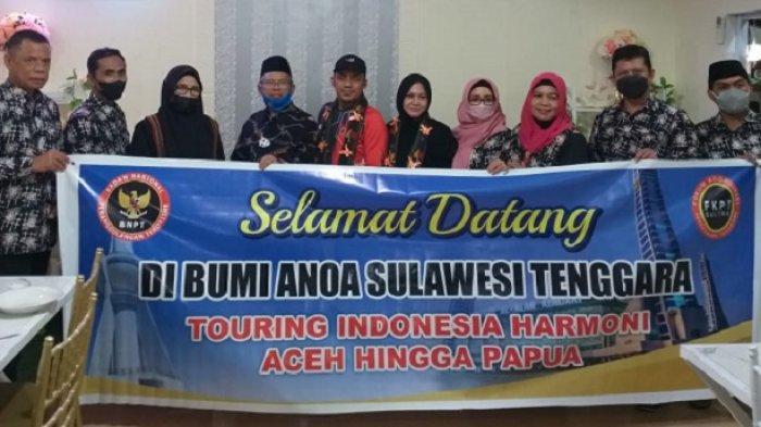 Kelilling Indonesia, Ketua FKPT Aceh, Sosialisasi Penanggulangan Terorisme di Kendari Inisisasi BNPT