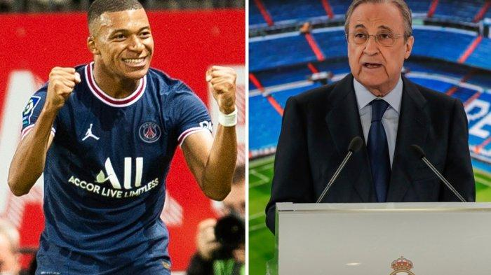 Kylian Mbappe Kecewa ke PSG, Florentino Perez Bocorkan Transfer Mbappe Rampung Januari 2022