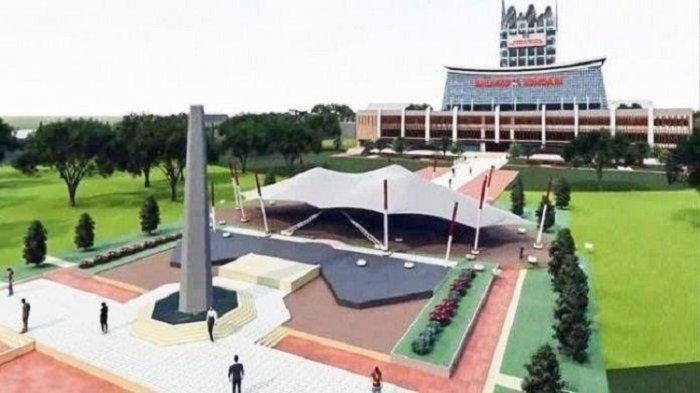Pembangunan Kantor Wali Kota Kendari Capai 30 Persen, Ini Fasilitas yang Digunakan di Akhir 2021