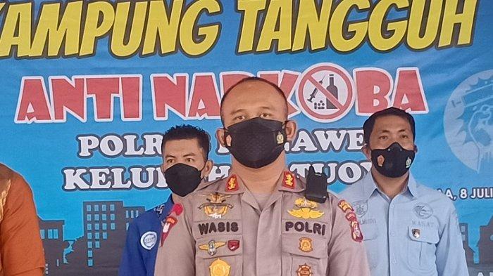 Polres Konawe Bentuk Kampung Tangguh Narkoba di Kelurahan Tuoy Kecamatan Unaaha