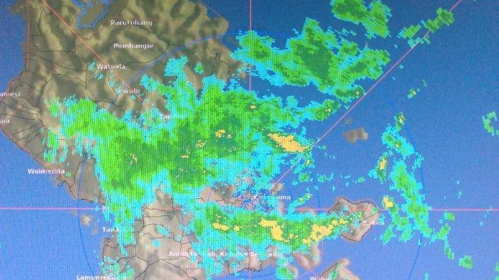 Ini Daerah di Sultra yang Diprediksi Hujan Menurut Prediksi BMKG, Selasa 24 Agustus 2021