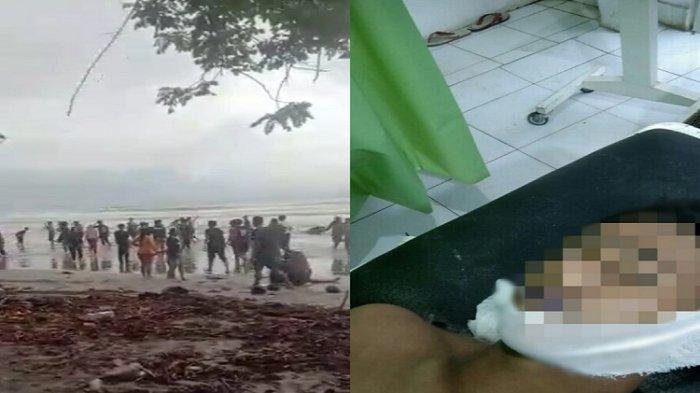 11 Wisatawan Tenggelam di Pantai Batu Gong Konawe, 1 Meninggal Dunia dari Mahasiswa UHO